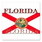 Florida.jpg Square Car Magnet 3