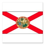 Floridablank.jpg Square Car Magnet 3