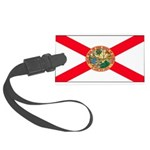 Floridablank.jpg Large Luggage Tag