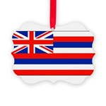 Hawaiiblank.jpg Picture Ornament