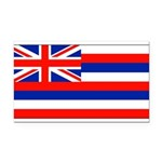 Hawaiiblank.jpg Rectangle Car Magnet