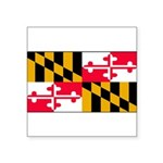 Marylandblank.png Square Sticker 3