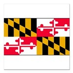 Marylandblank.png Square Car Magnet 3