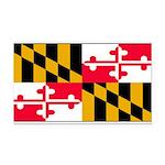 Marylandblank.png Rectangle Car Magnet