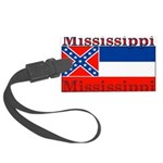 Mississippi.png Large Luggage Tag