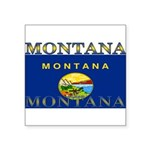 2-Montana.png Square Sticker 3