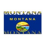 2-Montana.png Rectangle Car Magnet