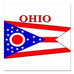 Ohio.png Square Car Magnet 3