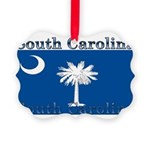 SouthCarolinawhite.png Picture Ornament