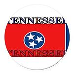 Tennessee.jpg Round Car Magnet