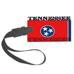 Tennessee.jpg Large Luggage Tag
