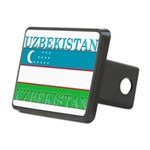 Uzbekistan.png Rectangular Hitch Cover