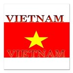 Vietnam.jpg Square Car Magnet 3
