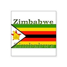 "Zimbabwe.jpg Square Sticker 3"" x 3"""