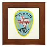 Texas Death Row Framed Tile