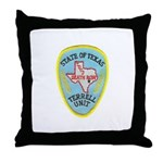 Texas Death Row Throw Pillow