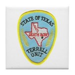 Texas Death Row Tile Coaster