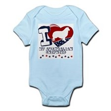 Australian Shepherd Infant Bodysuit