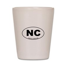 North Carolina State Shot Glass