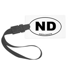 North Dakota State Luggage Tag