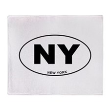 New York State Throw Blanket