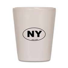 New York State Shot Glass