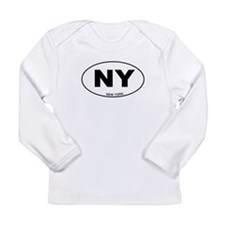 New York State Long Sleeve Infant T-Shirt
