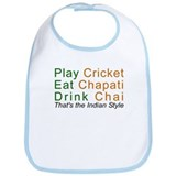 Love India Cotton Desi Humor Jokes Gift Baby Bib