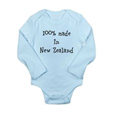 Made in NZ - Long Sleeve Infant Bodysuit