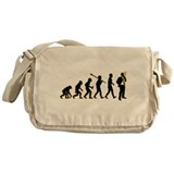 Cigar Smoking Messenger Bag