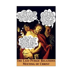 Last PR Meeting of Christ 11x17 poster