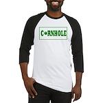 Cornhole Board Design Baseball Jersey