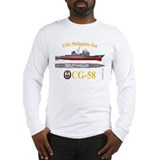 USS Philippine Sea CG-58 Long Sleeve T-Shirt
