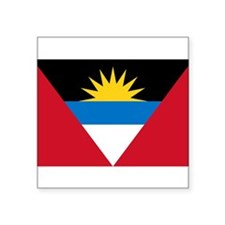 "Antigua and Barbuda.jpg Square Sticker 3"" x 3"""