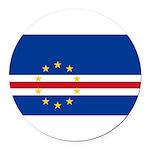 Cape Verde.jpg Round Car Magnet