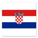 Croatia.jpg Square Car Magnet 3