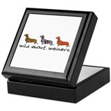 Wild About Weiners Keepsake Box