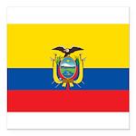Ecuador.jpg Square Car Magnet 3