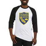 California Game Warden Baseball Jersey