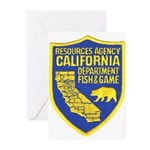 California Game Warden Greeting Cards (Package of