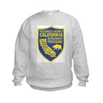 California Game Warden Kids Sweatshirt