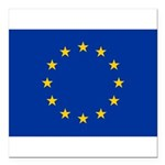 European Union.jpg Square Car Magnet 3
