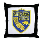 California Game Warden Throw Pillow