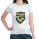 California Game Warden Jr. Ringer T-Shirt