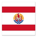French Polynesia.jpg Square Car Magnet 3