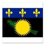 Guadeloupe.jpg Square Car Magnet 3