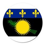 Guadeloupe.jpg Round Car Magnet