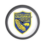 California Game Warden Wall Clock