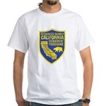 California Game Warden White T-Shirt