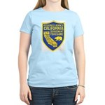 California Game Warden Women's Pink T-Shirt